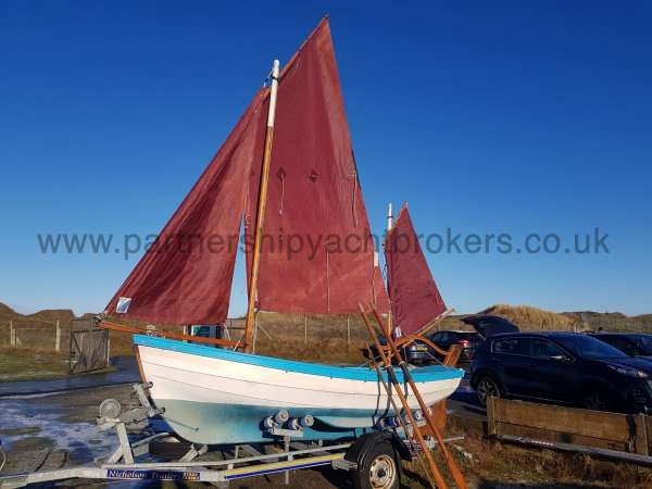 Loch Broom Post Boat Fully rigged - owners pic