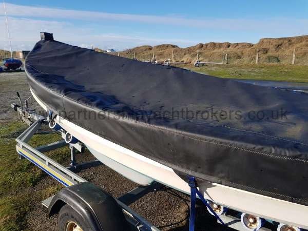 Loch Broom Post Boat The new  cover - owners pic