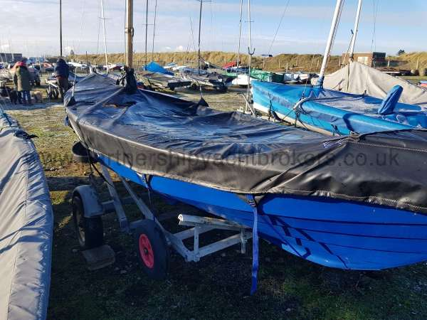 Home built Shetland Skiff New heavy duty cover - owners pic