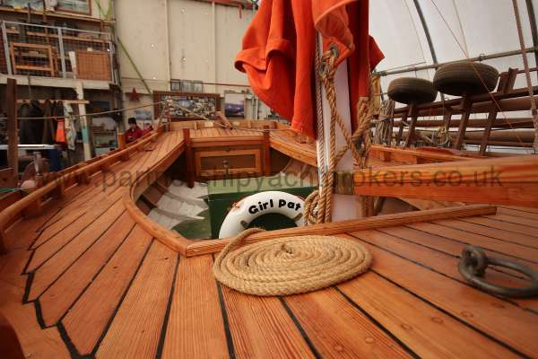 Devon Lugger 18 ft Wooden Classic  - laid decks 1 in oregan pine