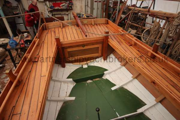 Devon Lugger 18 ft Wooden Classic  - fitted frames not steamed
