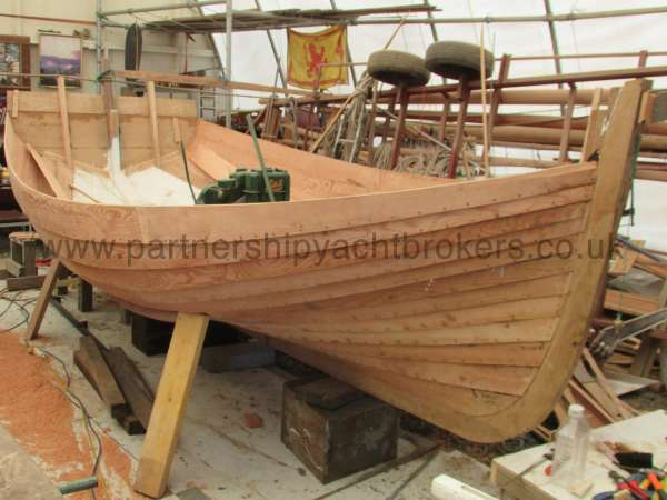 Devon Lugger 18 ft Wooden Classic  - engine fitted