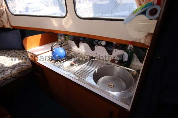 Hardy 25 Hardy 25  - the galley