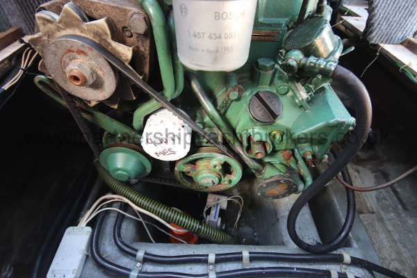 Hardy 25 Hardy 25  - engine compartment