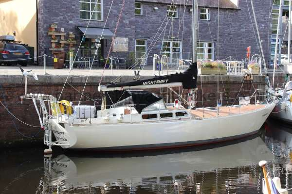 Dewar Aluminium sailing yacht for sale