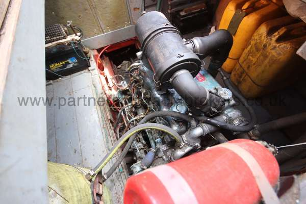 Hillyard 16 Ton Hillyard 16 Ton  - engine compartment