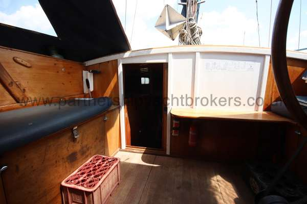 Hillyard 16 Ton Hillyard 16 Ton  - aft cabin from the saloon