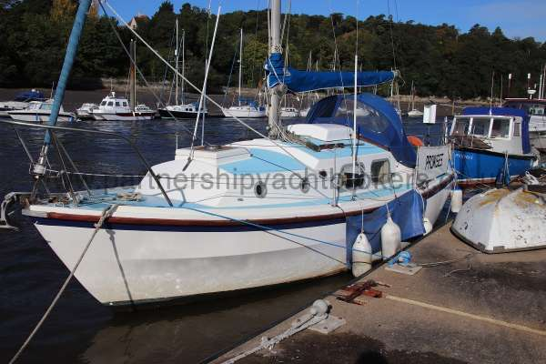Westerly Centaur Westerly Centaur - port side to