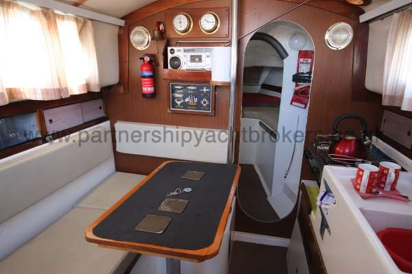 Westerly Centaur Westerly Centaur - the saloon is bright and spacious