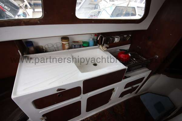 Leisure 23 Leisure 23 - the galley