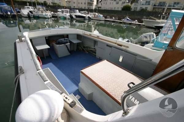 Newhaven Sea Warrior Deck view looking aft -