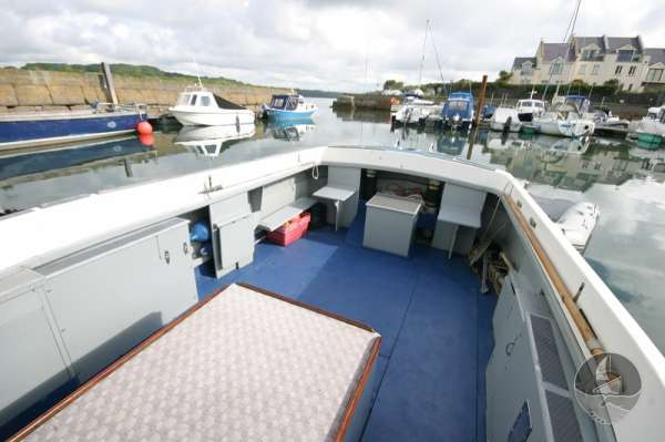 Newhaven Sea Warrior Deck view lots of space -