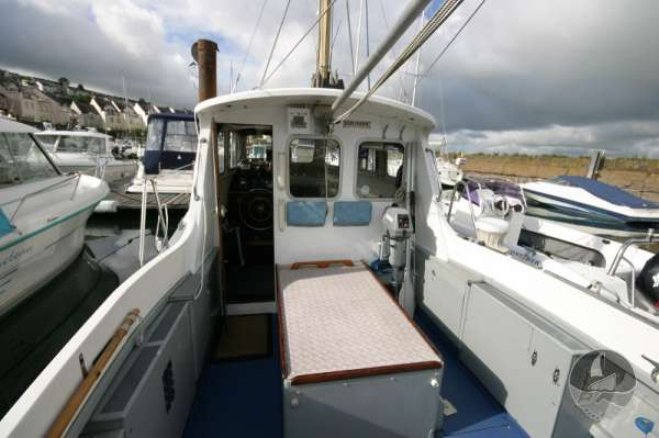 Newhaven Sea Warrior Deck view looking foreward -