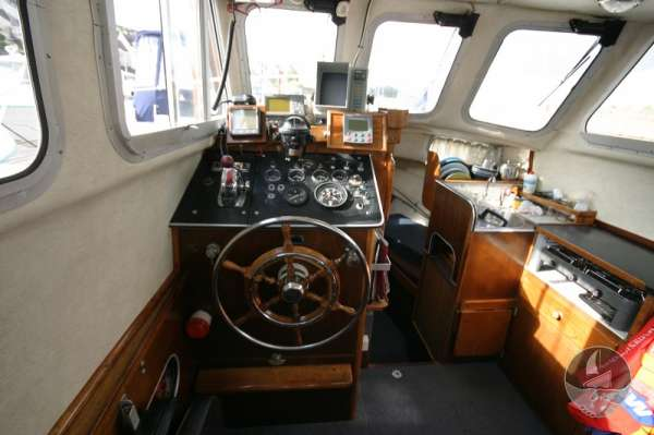 Newhaven Sea Warrior The helm -