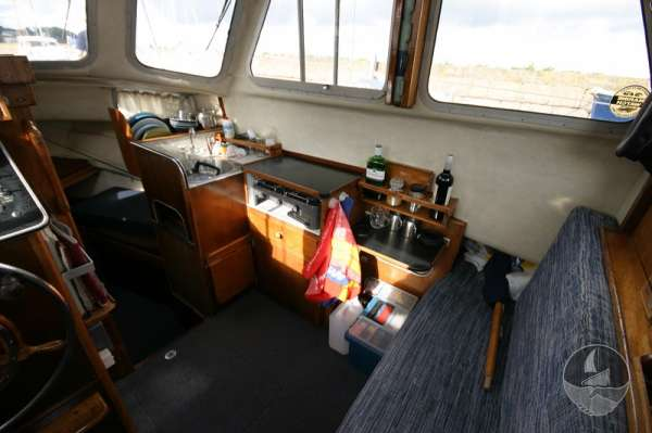 Newhaven Sea Warrior Inside the wheelhouse -