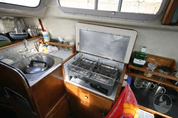 Newhaven Sea Warrior the galley -
