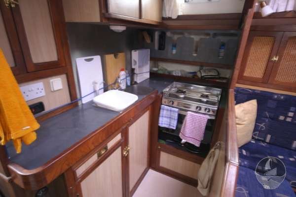 Sea Trader 41 the galley -