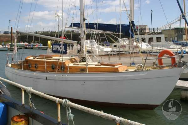 Vertue Classic Wooden Yacht Starboard side -
