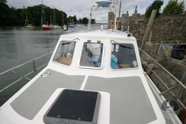 Aquastar 33 Looking aft -