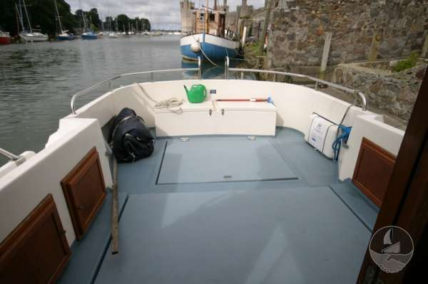 Aquastar 33 View from the wheelhouse -