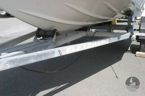 Fletcher Arrowsport 16 Bravo Classic Trailer detail -