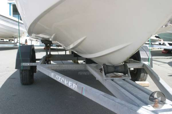 Fletcher Arrowsport 16 Bravo Classic Road trailer detail -