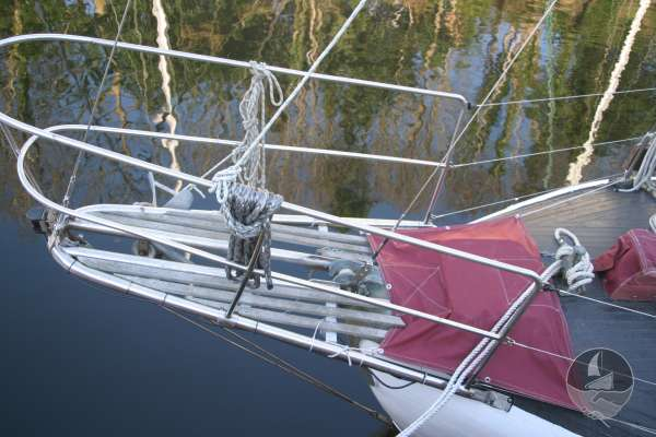 Wooden Classic 34 The plank bowsprit and pulpit -