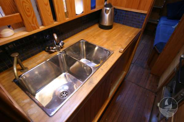 Wooden Classic 34 Galley detail -