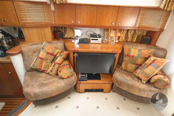 Elling E3 Executive Specification Lower saloon and TV -