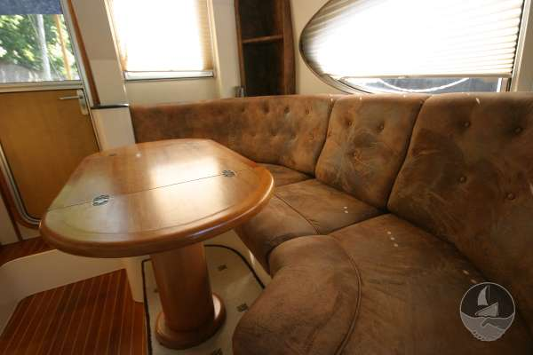 Elling E3 Executive Specification The deck saloon  - Seen from the after deck