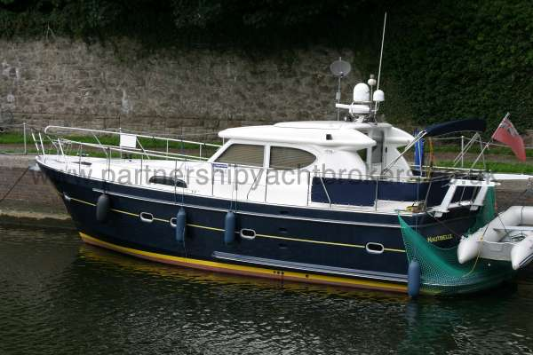 Elling E3 Executive Specification On her marina berth -