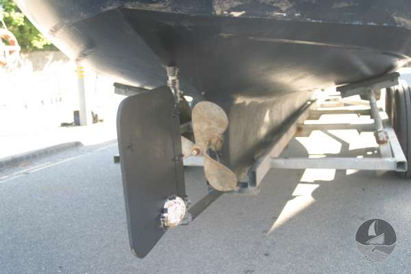 Myra Plast 21 Rudder and prop -