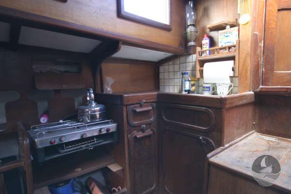 Keyhaven Yawl The galley -