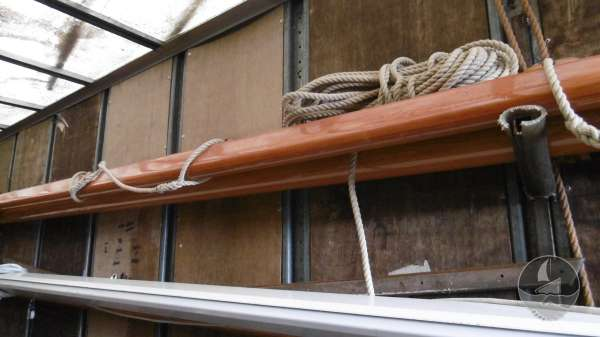 Keyhaven Yawl Masts in store -