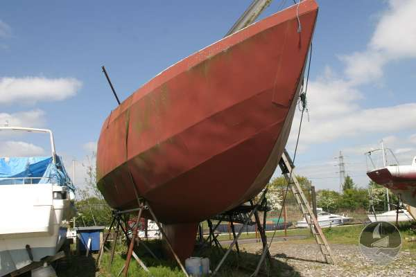 Van de Stadt steel hull for sale