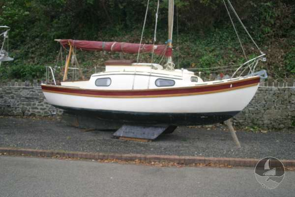 Westerly 22 Currnetly stored ashore -