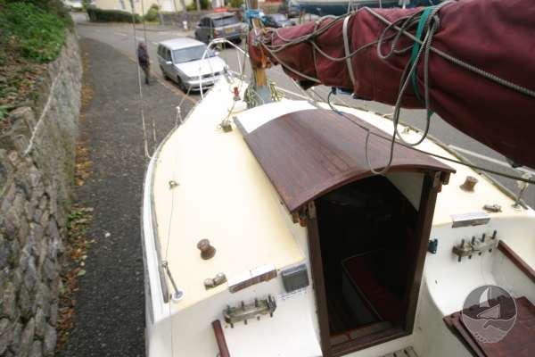 Westerly 22 Nain hatch -
