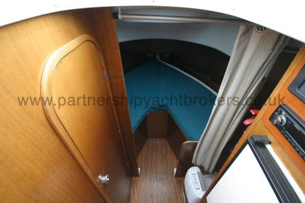 Beneteau Antares 760 The fore cabin - Heads on the left