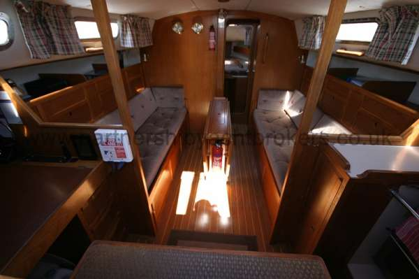 Westerly Fulmar The saloon -
