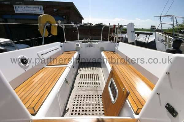 Westerly Fulmar The cockpit -