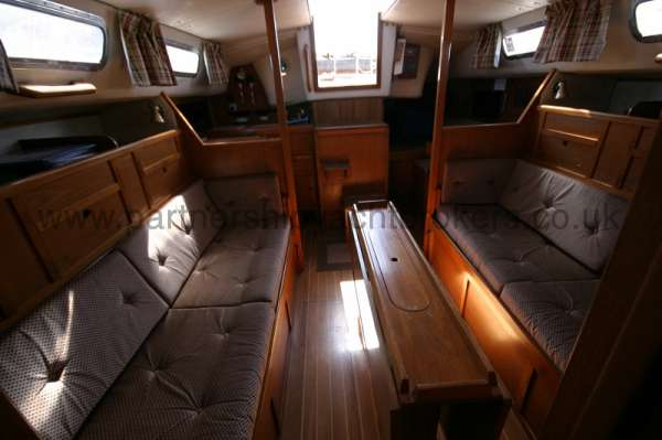 Westerly Fulmar saloon view -