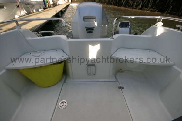 Finnmaster 61ca Aft deck seating -