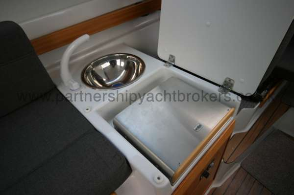 Finnmaster 61ca The compact galley -