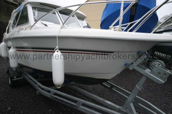 Finnmaster 61ca starboard side view -