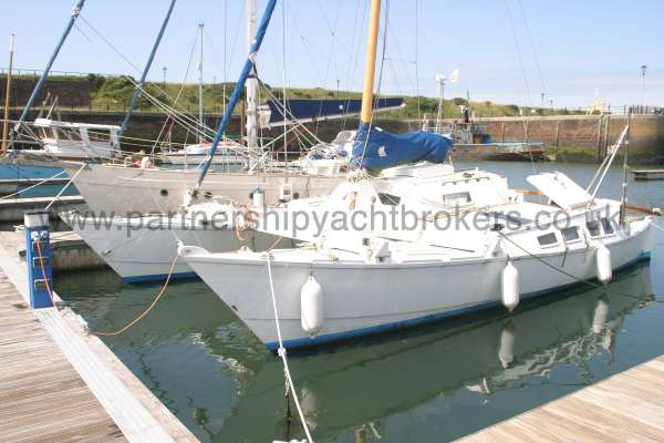 Wharram Tiki 30 Port side view -