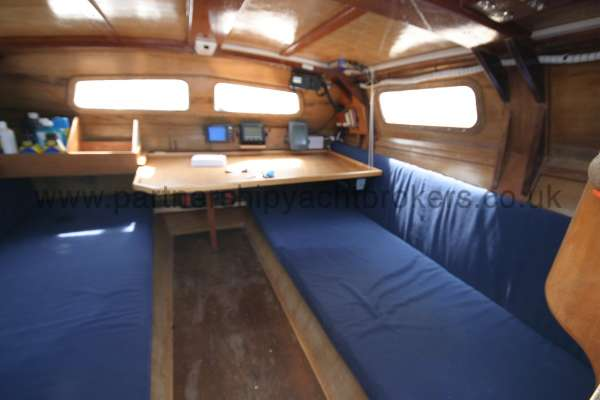 Wharram Tiki 30 Interior view with two berths -