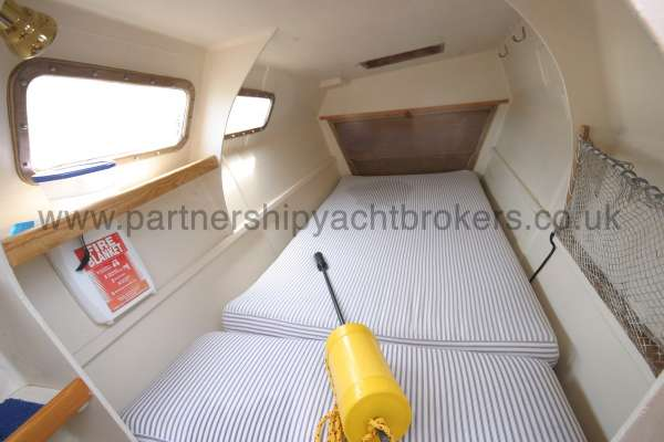 Wharram Tiki 30 The port hull interior -