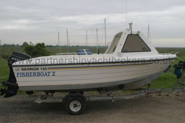 Warrior Boats 150 Starboard side view -