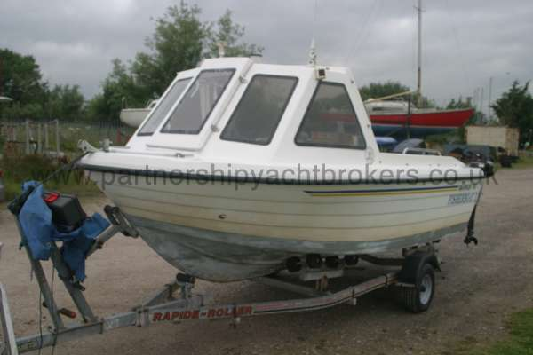 Warrior Boats 150 Port side view -