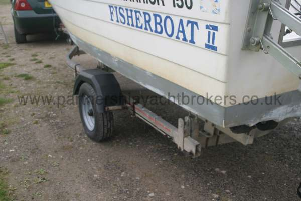 Warrior Boats 150 Trailer detail -